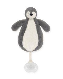 Speendoekje Pinguin Grijs