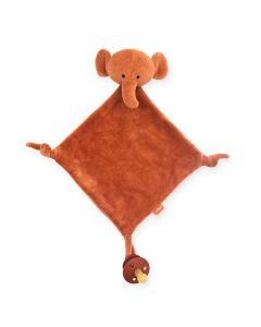 Knuffeldoekje Elephant Rust