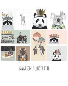 Kaartenpakket Illustratie 10 voor 15,00