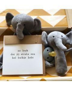 Brievenbus (Kraam) cadeaupakket Set