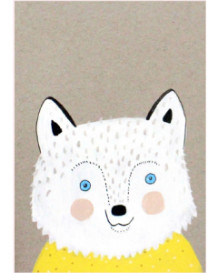 Kaart Wimmie de Wolf