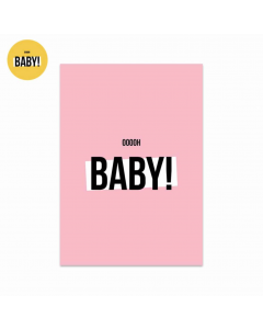Kaart Ooooh Baby Roze
