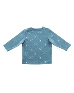 Shirt lange mouw Little Lion Blauw