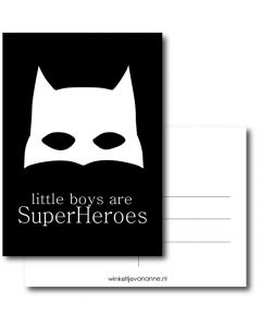 Little boys are superHeroes A6