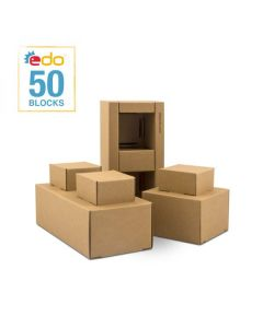 Edo Blocks - set van 50